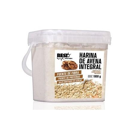 Harina integral de avena